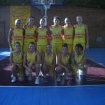 CS Baschet Alexandria la al 7-lea sezon de Divizia A
