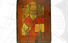Icoana Sfântului Nicolae, exponatul lunii decembrie la Muzeul Judeţean