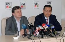Victor Ponta şi Crin Antonescu vor fi vineri la Alexandria