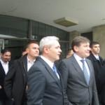 Liviu Dragnea şi Crin Antonescu, în vizită la Nanov şi Smărdioasa