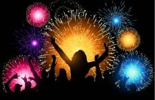 Foc de artificii la cumpăna dintre ani pentru alexăndreni