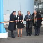 La Turnu Măgurele, Ioan Nicolae a inaugurat o instalaţie de cogenerare