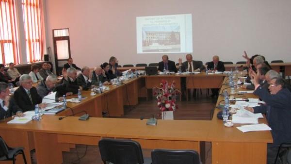 Primarul Victor Drăguşin, la raport