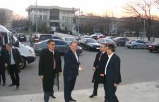 Vasile Blaga, în căutare de voturi la Alexandria