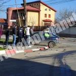 Accident pe fondul neacordării de prioritate la intersecţia străzilor C. Vodă cu I. Creangă