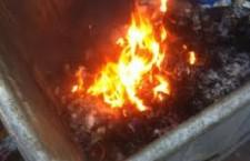 Incendiu pe strada Negru Vodă, din Alexandria