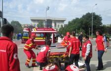 Desfăşurare impresionantă de forţe la Alexandria – Autorităţile, mulţumite de felul cum s-a desfăşurat simularea unui cutremur major