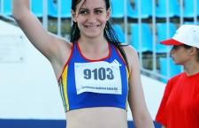 Andreea Ogrăzeanu, vicecampioană națională indoor