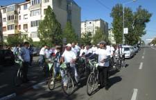 Participare redusă la Marşul Bicicletelor din Alexandria